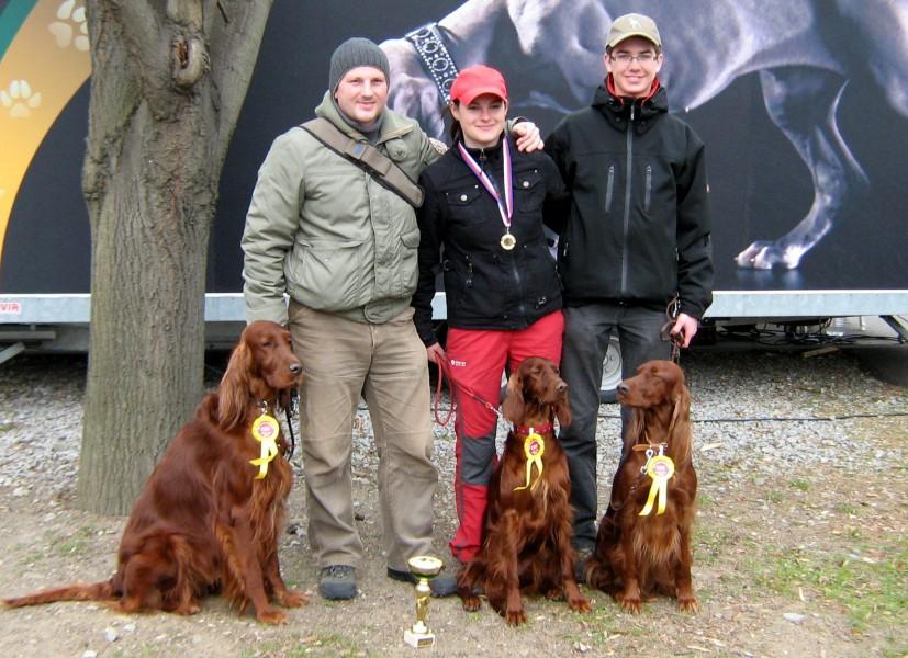 zleva: Benji, Alison a Barcy